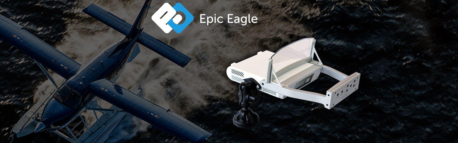 Epic Eagle HUD - Heads Up Display - Banyan Pilot Shop