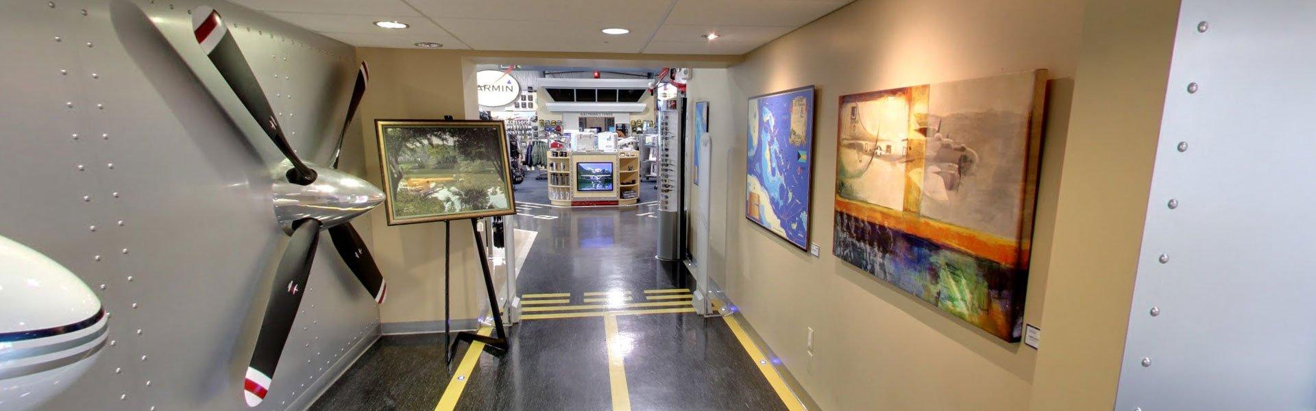 Store Entrance - About Banyan Pilot Shop