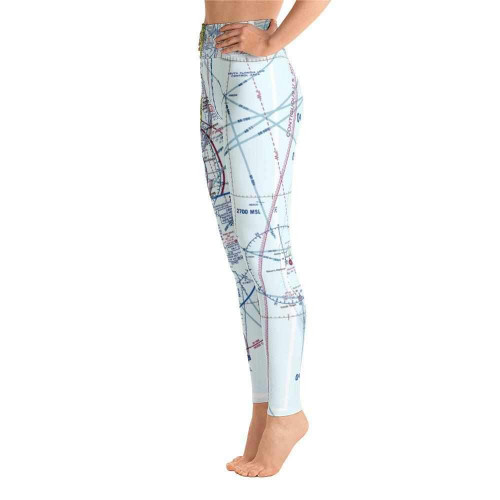 Miami Sectional Leggings - White