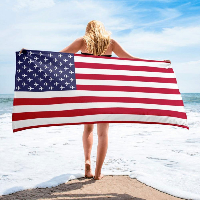 American Aviation Pride Towel