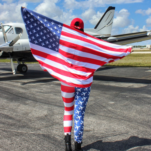 American Aviation Pride Towel Tarmac